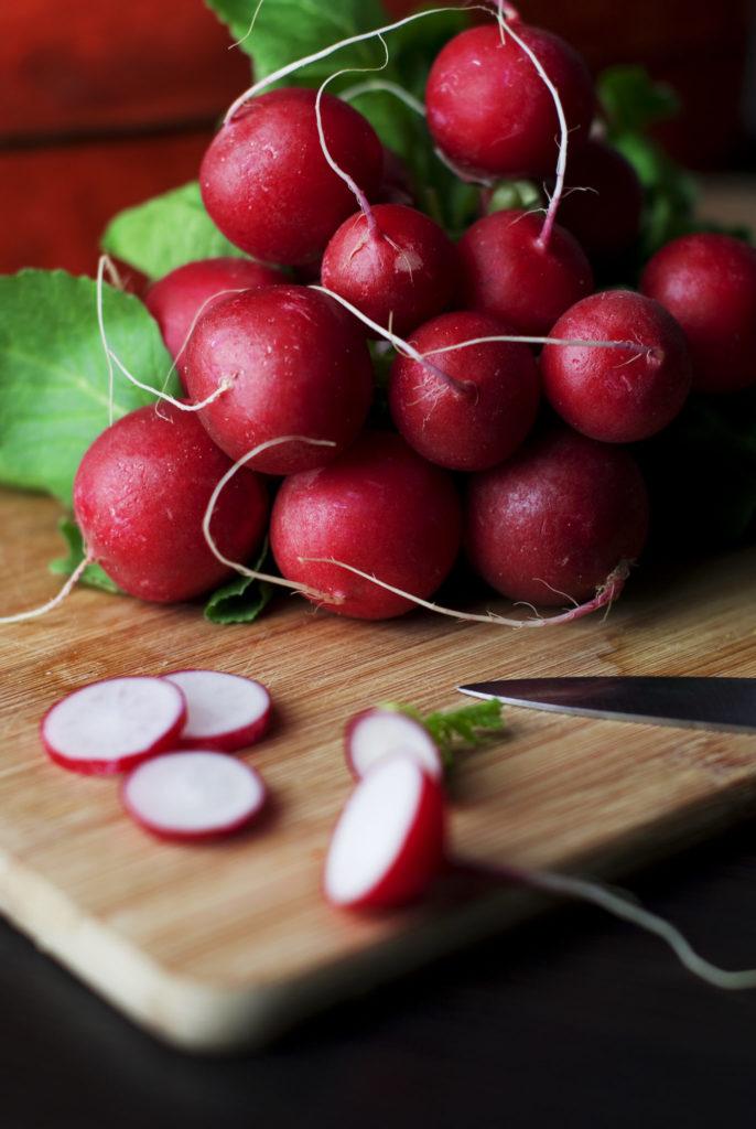 food radishes vegatables