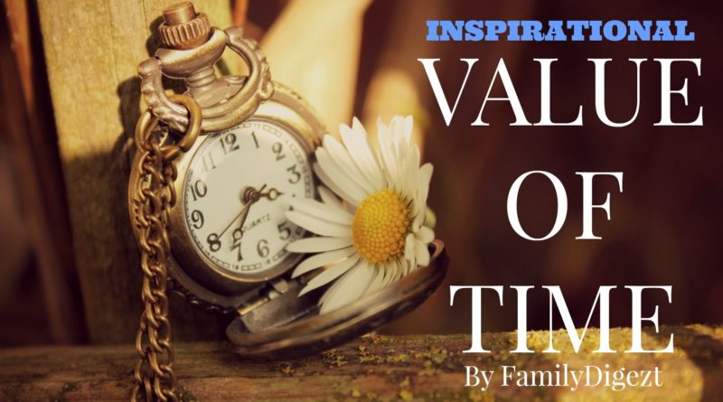 "Some may ask:""What is the True Value of Time."""