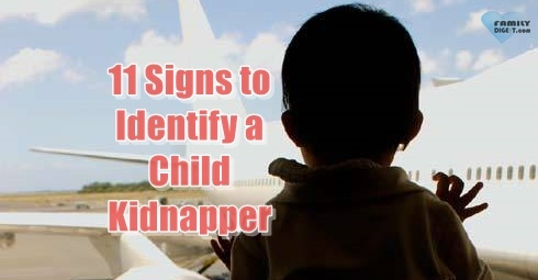11 Signs to Identify a Child Kidnapper